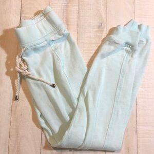 Cute mint green joggers size XS